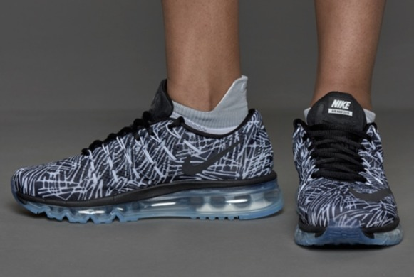 "Кросiвки Nike Air Max 2016 Print ""White/Black"", EUR 40"