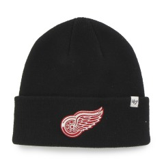 "Шапка Оригинал 47 Brand Detroit Red Wings Raised Cuff Knit ""Black"""