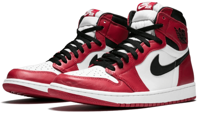 "Кроссовки Air Jordan 1 Retro High OG ""Chicago"", EUR 45"
