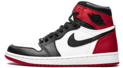 "Кроссовки Air Jordan 1 WMNS High OG ""Satin Black Toe"""
