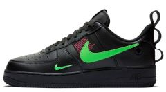 "Кроссовки Nike Air Force 1 Low Utility ""Black/Hyper/Pink/Scream/Green"""