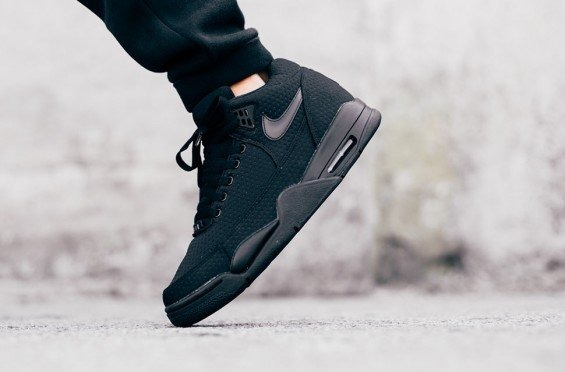 "Кроссовки Nike Flight Squad ""Triple Black"", EUR 44"