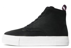"Хайтопы Eytys Odyssey Suede High-Top Sneakers ""Black"""