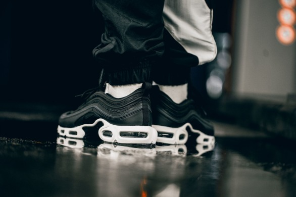 "Кроссовки Nike LAB Air Max Plus 97 ""Black"", EUR 43"