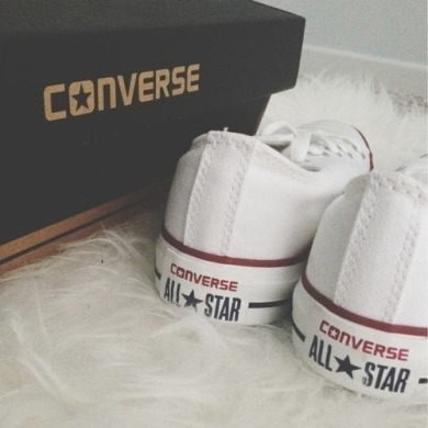 "Кеды Converse ""White Low Top All Star"", EUR 37"