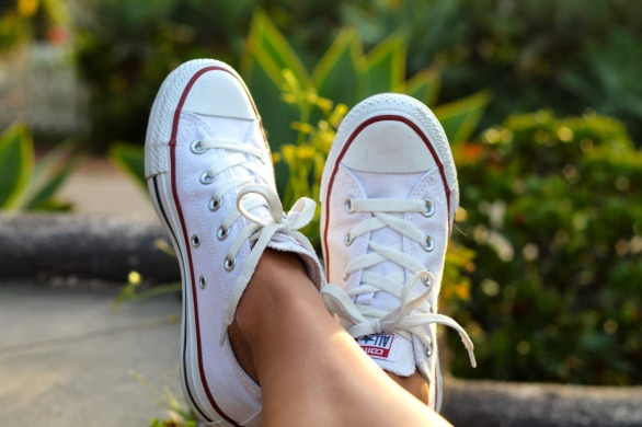 "Кеды Converse ""White Low Top All Star"", EUR 41"