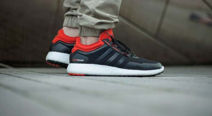 "Кроссовки Adidas Climaheat Rocket Boost ""Black/Red"", EUR 40"
