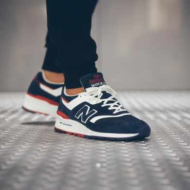 "Кросiвки New Balance 997,5 ""Navy Red"", EUR 43"