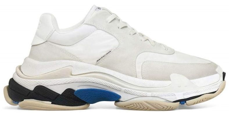 "Мужские кроссовки Balenciaga Triple S 2.0 ""White/Blue"", EUR 42"