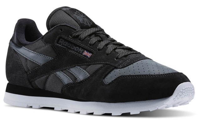 "Кроссовки Оригинал Reebok Cl Leather NP ""Coal/Alloy"" (V69217), EUR 40"