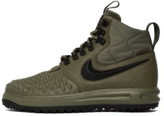 "Кроссовки Оригинал Nike Lunar Force 1 Duckboot '17 ""Medium Olive"" (916682-202)"