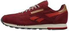 "Кроссовки Оригинал Reebok Classic Leather Utility ""Motor Red"" (V72845)"