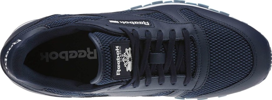 "Кроссовки Reebok Classic Leather NM ""Blue"" (BD1651), EUR 44,5"