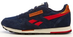 "Кроссовки Reebok cl leather utility ""Blue"""