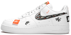 "Мужские кроссовки Nike Air Force 1 07 Just Do It Pack ""White"""