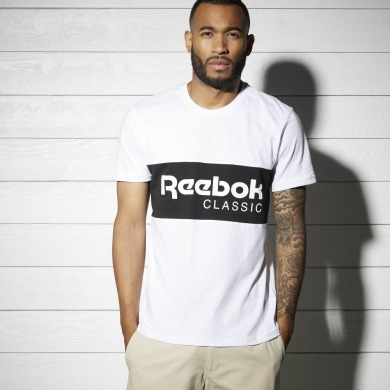 c9b5c36306b57a Оригінальна футболка Reebok Archive Stripe (BK3835) R008 - купити ...