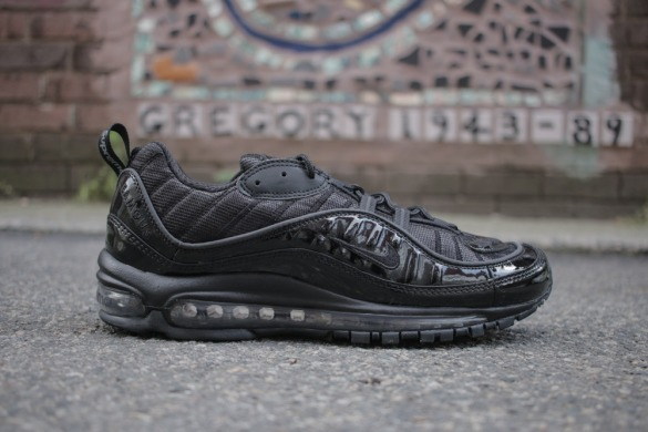 "Кроссовки Nike Air Max 98 x Supreme ""Black/Black"", EUR 36"