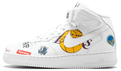 "Мужские кроссовки Nike Air Force 1 Mid '07 Supreme NBA ""White"""