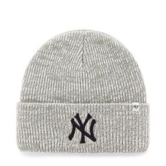Шапка 47 Brand MLB New York Yankees Brain Freeze Cuff Knit (BRNFZ17ACE-GY)