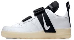 Мужские кроссовки Nike Air Force 1 Utility 'White Black'