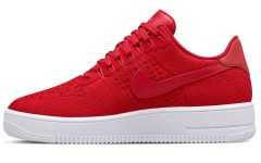"Кросiвки Nike Air Force 1 Flyknit Low ""Red"""