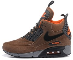 "Кроссовки Nike Air Max 90 Winter Sneakerboot ""Winter Brown"""