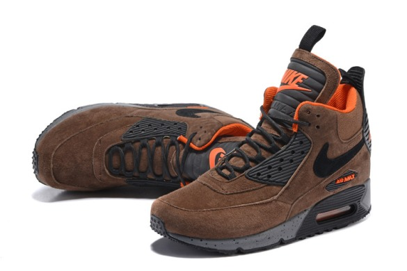 "Кроссовки Nike Air Max 90 Winter Sneakerboot ""Winter Brown"", EUR 45"