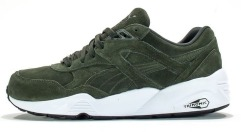 "Кроссовки Puma R698 Allover Suede Forest ""Night-White"""