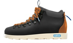 "Ботинки Native Fitzsimmons ""Jiffy Black/Pumpkin Orange"""