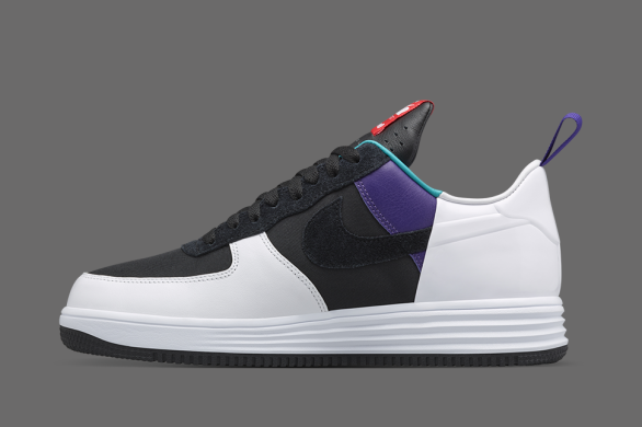 "Кроссовки Acronym x NikeLab Lunar Force 1 ""Turbo Green/Court Purple"", EUR 40"