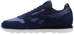 "Кроссовки Оригинал Reebok Classic Leather NP ""Collegiate Navy"" (V70835)"