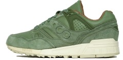 "Кроссовки Оригинал Saucony Grid SD Boston Public Garden Pack ""Green"" (S70263-2)"