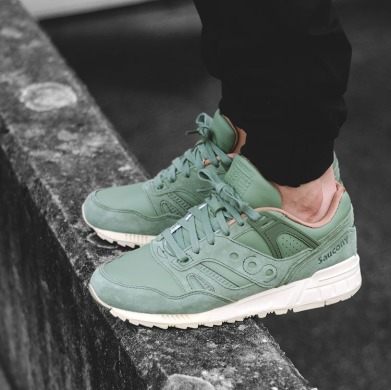 "Кроссовки Оригинал Saucony Grid SD Boston Public Garden Pack ""Green"" (S70263-2), EUR 44"