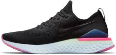 Кроссовки Nike Epic React Flyknit 2 'Black/Pink'