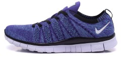 "Кроссовки Nike Free Flyknit ""Purple/White"""