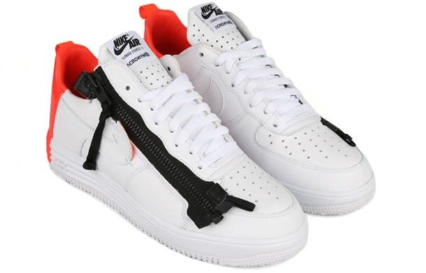 "Кроссовки Acronym x NikeLab Lunar Force 1 ""White/Bright crimson"", EUR 40"
