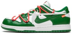 "Кроссовки Nike Dunk Low Off-White ""Pine Green"""
