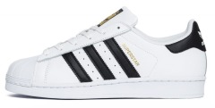 "Кеди Оригінал Adidas Superstar ""Black Stripes"""