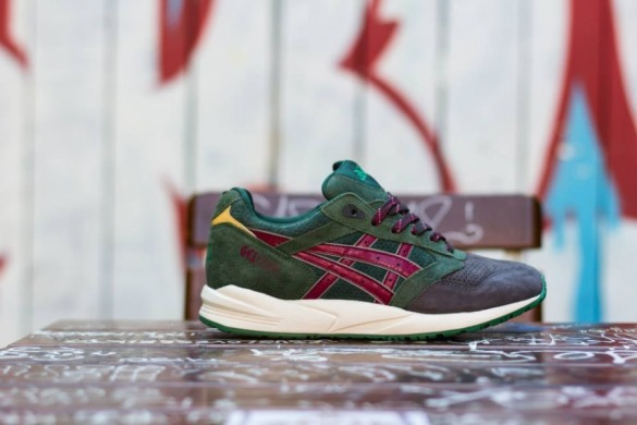 "Кроссовки Asics Gel Saga Christmas Pack ""dark green"", EUR 40"