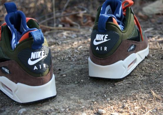 "new york e2aa0 6ed6d Кроссовки Nike Air Max 90 SneakerBoot ""Legion Green"", ..."