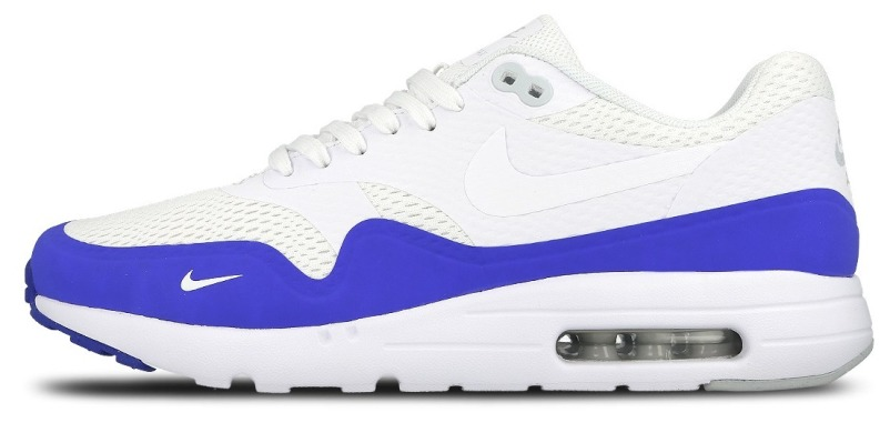 "Кросiвки Оригінал Nike Air Max 1 Ultra Essential ""Blue/White"" (819476-114), EUR 41"
