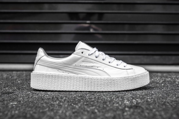 "Кроссовки Puma Fenty by Rihanna ""Basket Creeper Glo\ White"", EUR 36"