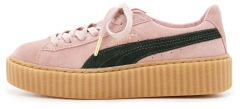 "Кросiвки Rihanna x Puma Suede Creeper ""Coral/Cloud"""