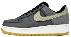 "Кроссовки Nike Air Force 1 Anthracite Bamboo ""Black/Gum/Light/Brown"""