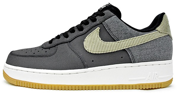 "Кроссовки Nike Air Force 1 Anthracite Bamboo ""Black/Gum/Light/Brown"", EUR 41"