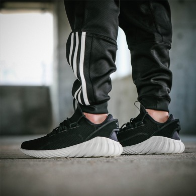 "Кроссовки Adidas Tubular Doom Sock Primeknit ""Black/White"", EUR 41"