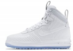 "Кроссовки Nike Lunar Force 1 Duckboot ""White & Ice"""