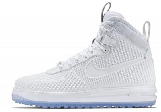 "0695163888e7 Кроссовки Nike Lunar Force 1 Duckboot ""White   Ice"" A579 – купить по ..."