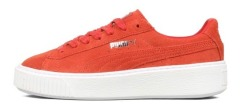 "Кроссовки Puma Suede Platform Core ""Red"""
