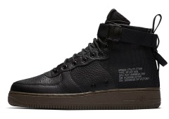 "Чоловічі кросівки Nike Air Force 1 MID SF Special Field ""Black"""